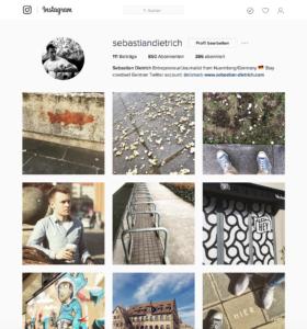 Sebastian Dietrich Instagram