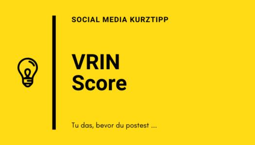 Die VRIN Score